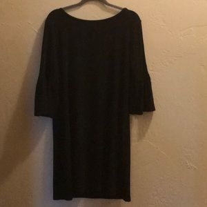 WHBM Size L Black Dress
